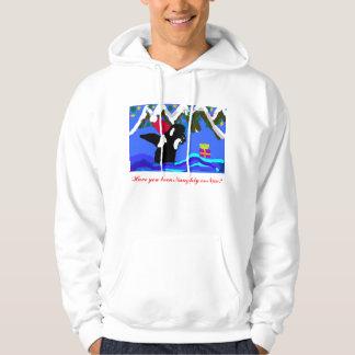 Orca naughty or nice hoodie
