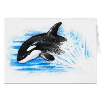 Orca Playing Card