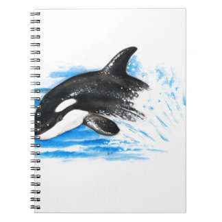 Orca Playing Notebook