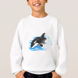 Orca Playing Sweatshirt
