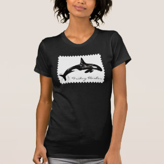Orca Postage Stamp T-Shirt
