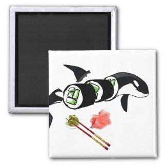 Orca sushi! magnet