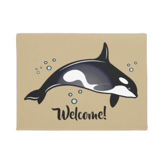 Orca Welcome Mat
