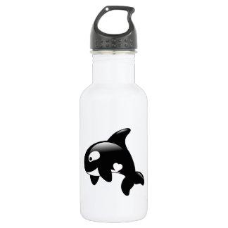 Orca Whale 532 Ml Water Bottle
