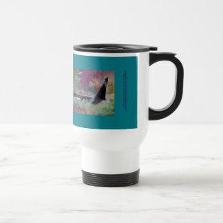 Orca Whale Fantasy Dream - I Love Whales Travel Mug