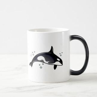 Orca Whale Magic Mug