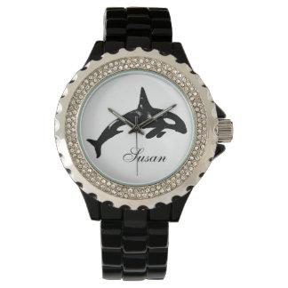 Orca Whale Wrist Watch
