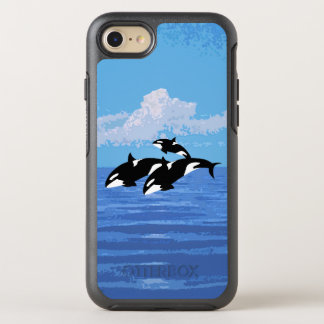 Orcas Custom OtterBox Apple iPhone 7 case