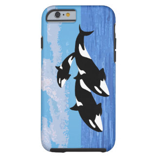 Orcas iPhone 6/6s, Tough Phone Case