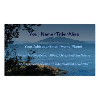 Orcas Island Business Card Template