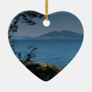 Orcas Island Ceramic Ornament