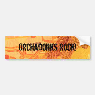 Orchadorks Rock! Bumper Sticker