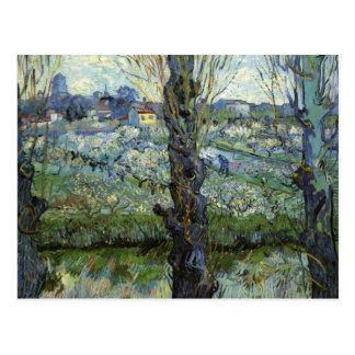 Orchard Blossom, View of Arles, Vincent Van Gogh Postcard
