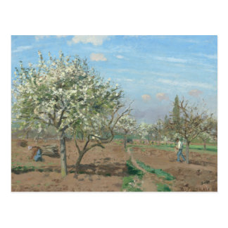 Orchard in Bloom, Louveciennes  France by Pissarro Postcard