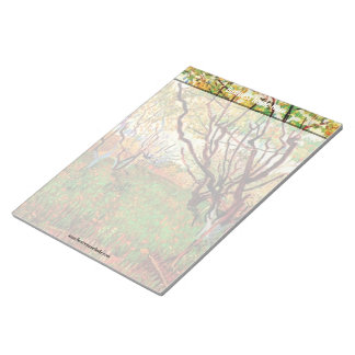 Orchard in Blossom by Van Gogh Memo Note Pads