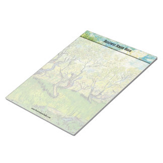 Orchard in Blossom by Van Gogh Note Pads