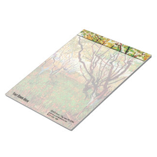 Orchard in Blossom by Van Gogh Notepads