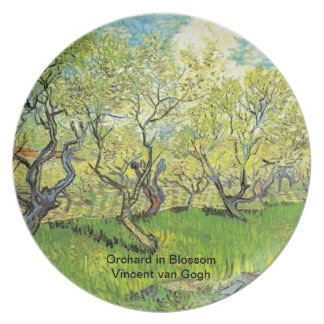 Orchard in Blossom, Vincent van Gogh Dinner Plates