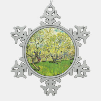Orchard in Blossom.  Vincent van Gogh. Ornament