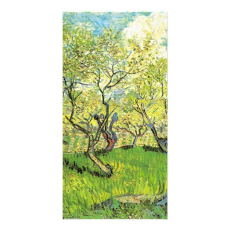 Orchard in Blossom, Vincent van Gogh. Photo Card Template