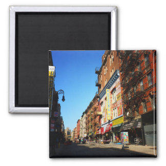Orchard Street, Lower East Side, NYC Square Magnet