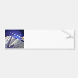 Orchestra Conductor Elements 2 Bumper Sticker