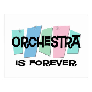 Orchestra Is Forever Postcard