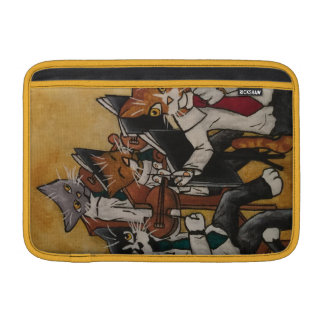 Orchestral Cats MacBook Sleeve