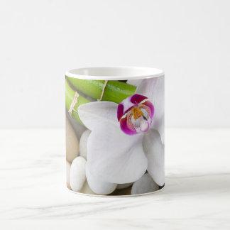 Orchid and Bamboo Coffee Mug