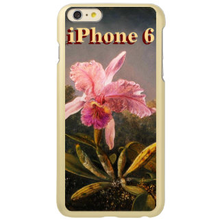 Orchid and Brazilian Hummingbirds iPhone 6 Case