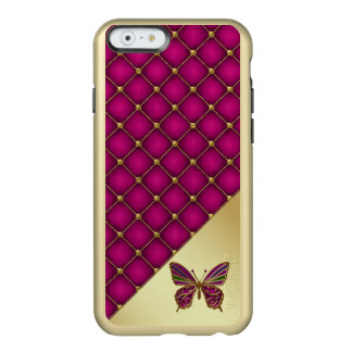 Orchid and Gold Butterfly iPhone 6 Case