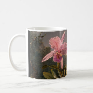 Orchid and three Brazilian Humming Birds Coffee Mug