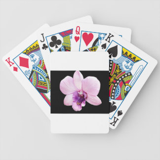 Orchid Bicycle Playing Cards