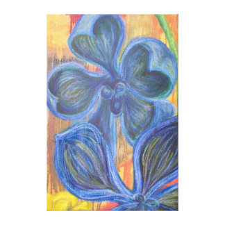 Orchid Blossoms Wrapped Canvas Stretched Canvas Prints