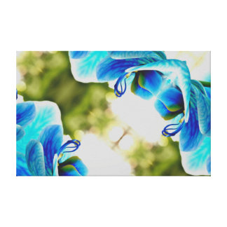 Orchid Blue Canvas Print