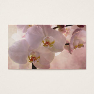Orchid Bookmark Business Card