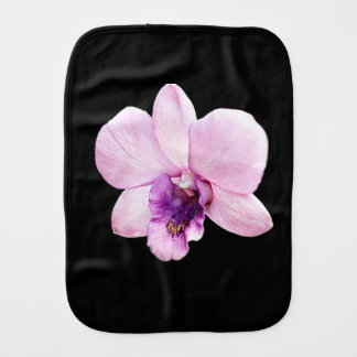 Orchid Burp Cloth