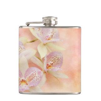 Orchid - Caulocattleya - The twinkle in my eye Hip Flask