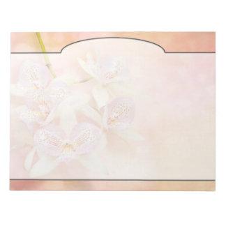 Orchid - Caulocattleya - The twinkle in my eye Notepad