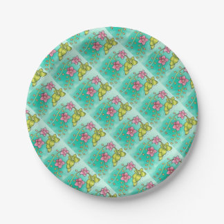 Orchid Color Paper Plate