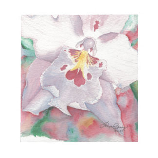 Orchid Design Notepad