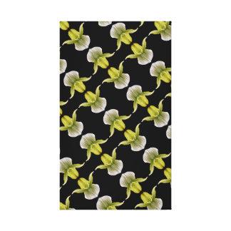Orchid Diagonal Canvas Print