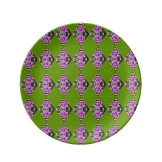 Orchid Diamond Pattern Plate