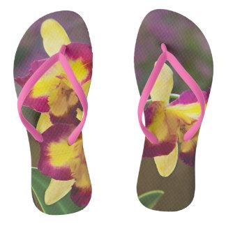 Orchid Flip Flop