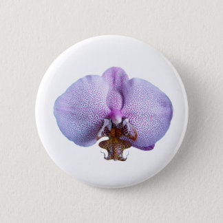 Orchid Flower 6 Cm Round Badge