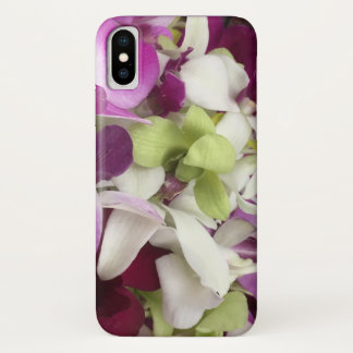Orchid flower phone case