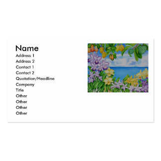 Orchid Island Pack Of Standard Business Cards