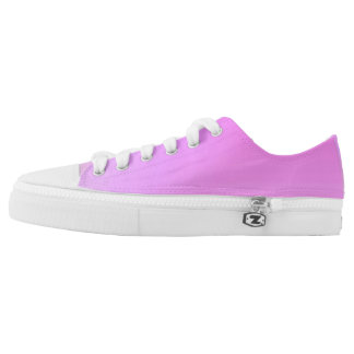 Orchid Low Tops Printed Shoes