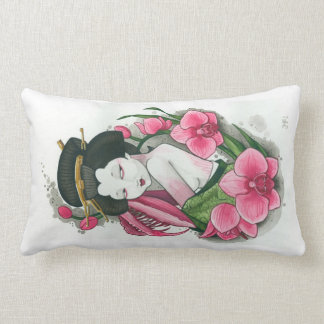 """Orchid Mantis"" Cushion"