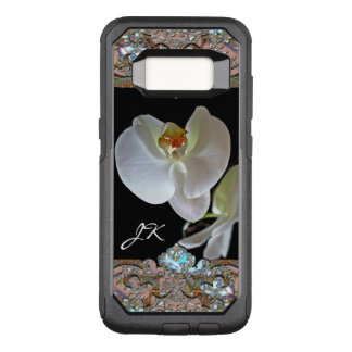 Orchid Monogram Pretty Floral VIII OtterBox Commuter Samsung Galaxy S8 Case